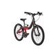 "ORBEA Grow 2 1V Kids 20"" Black-Red"